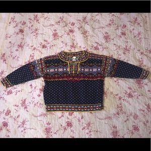 Hanna Andersson size 90 Nordic Christmas sweater